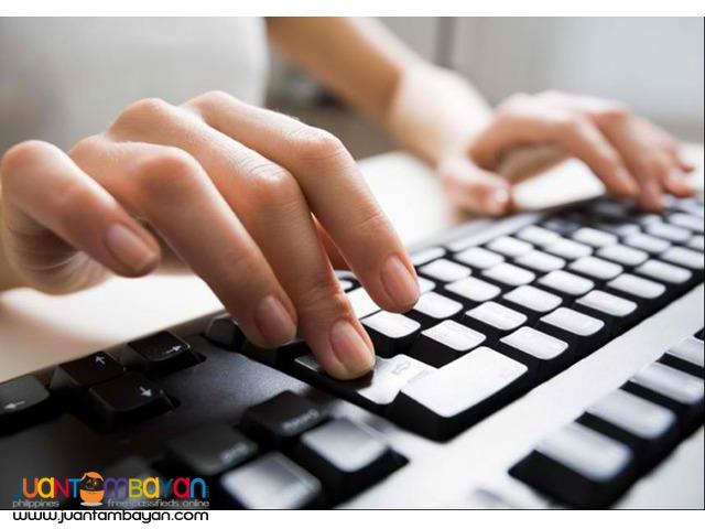 Data Encoder/ Data Entry Staff