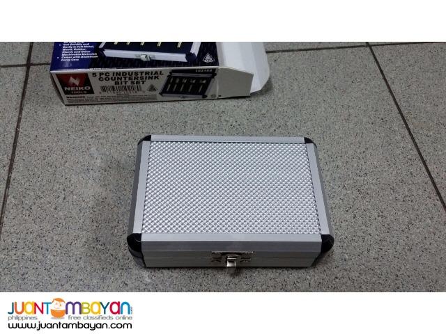 Neiko 10218A 5-piece 1/4-inch Countersink Bit Set