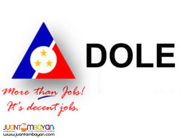 Waiter, Waitress, Service Crew, Kitchen Staff DOLE hiring 2016