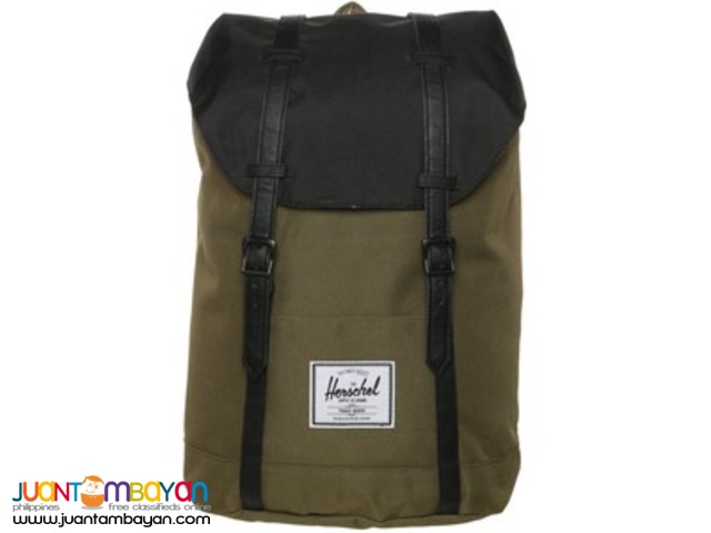 Original Herschel Retreat Bags Plain