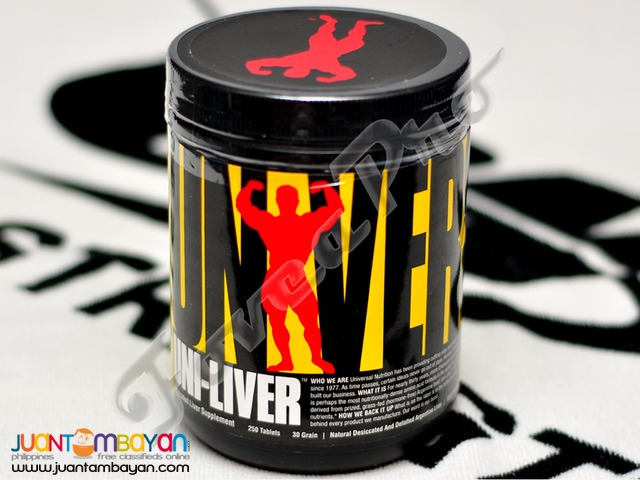 Universal Nutrition Uni-Liver, 250 tablets (Free Shipping)