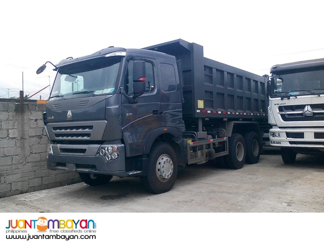 10 Wheeler HOWO-A7 Dump Truck, 371HP, 20m³
