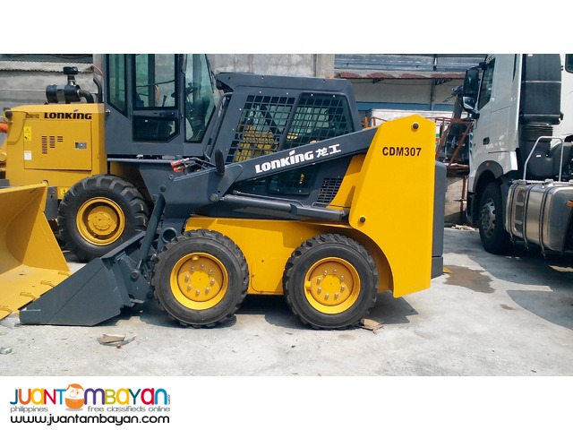 CDM307 Skid Loader  (Bucket Capacity-0.43m³)