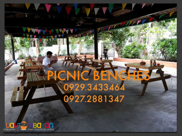 10 picnic Benches