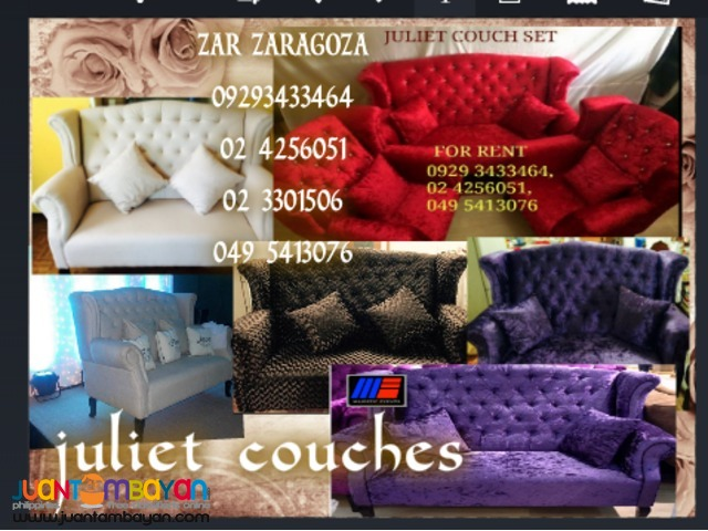 Juliet Event Couches