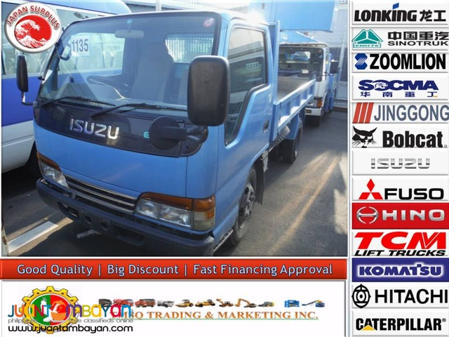 ISUZU 4HF1 Engine 2-4 CUBIC CAP ELF Mini GigaDumptruck JP Surplus
