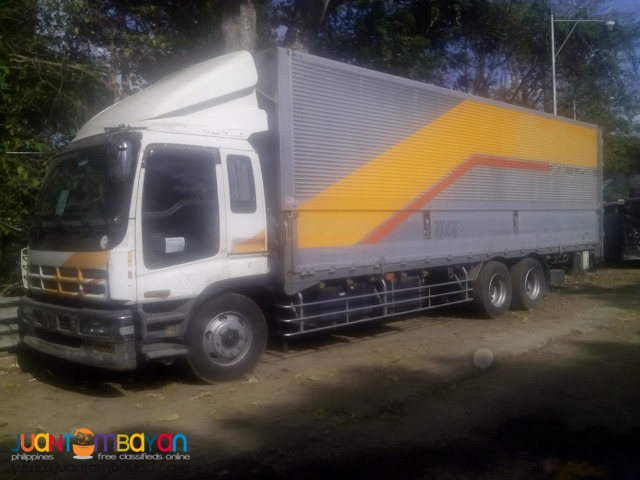 ISUZU 10 Wheeler Giga Wing Van 2015 New Big Truck Japan Surplus
