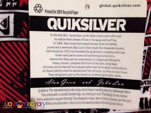 Overrun Quiksilver Boxer Briefs