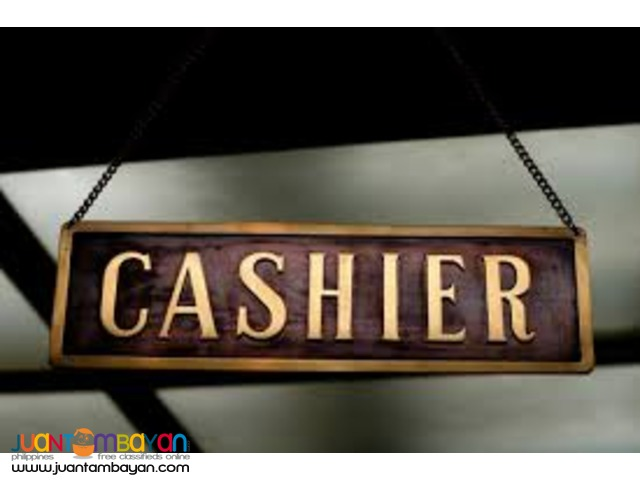 WANTED Cashier