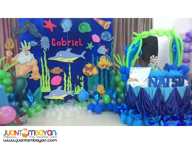 Affordable all in kiddie party package