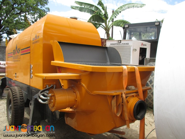 Portable Concrete Pump (Hopper Capacity 700L)