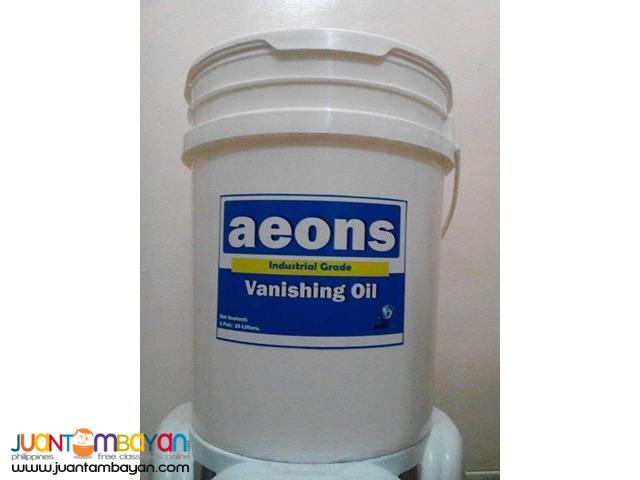VANISHING OIL