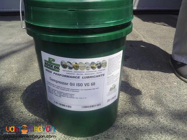 COMPRESSOR OIL ISO VG - 68 ROCK OIL BRAND