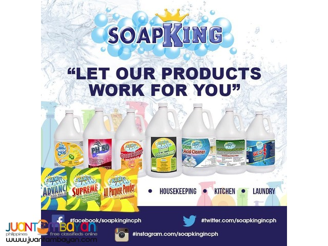 Cleaning Products (Kingwash Brand)