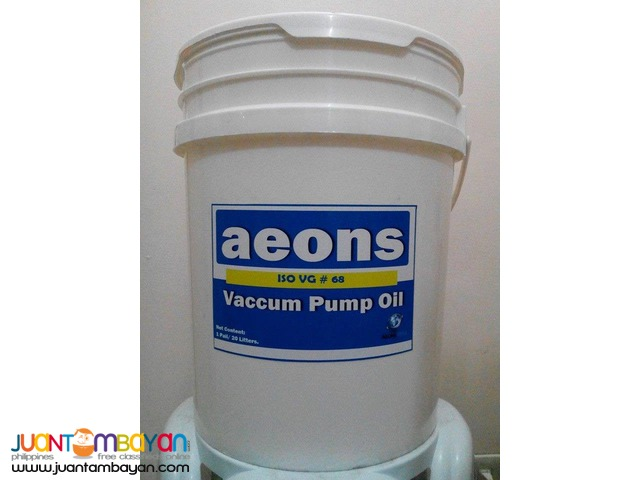 VACUUM PUMP OIL ISO VG 32/46/68/100