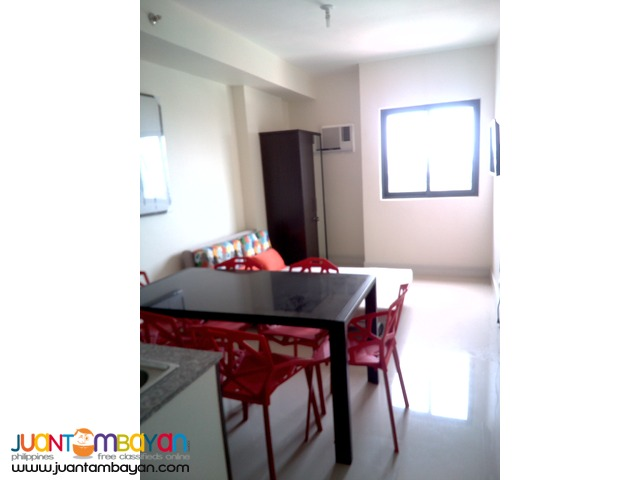 Condo Studio Unit Type Furnished For Rent at P20k monthly in Cebu