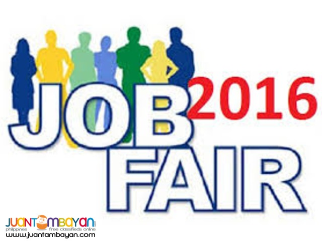 Marikina JOBFAIR2016 Waiter/Waitress,Cashier,Salesclerk,Bagger