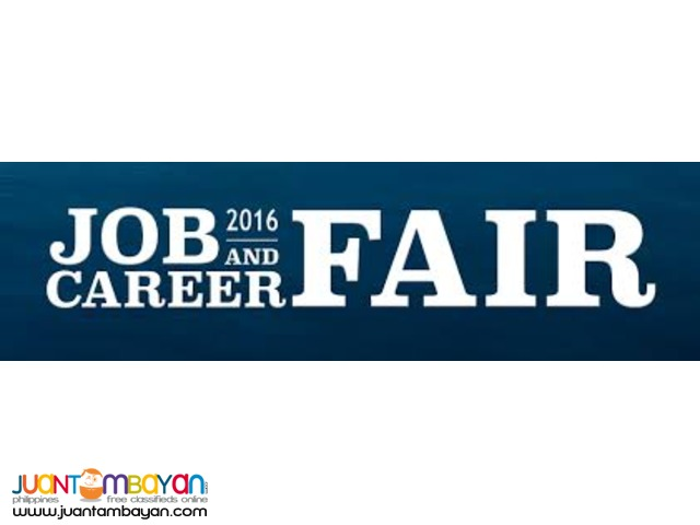 JOBFAIR 2016 office staff,data encoder,cashier,accountant,and etc..