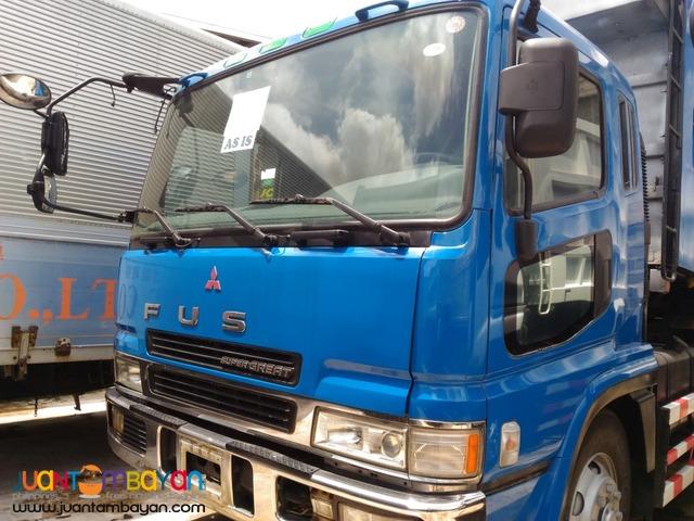 Mitsubishi Fuso Super Great 10W Dump Truck