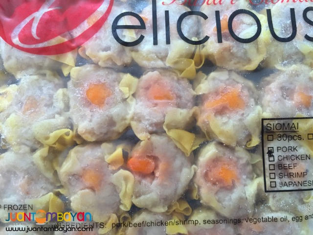 WHOLESALE SUPPLIER OF HIGH QUALITY Branded CHICKEN PORK BEEF SIOMAI