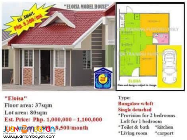 Affordable House and lot in Terraverde Residences