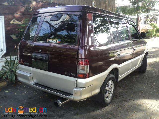 2000 mitsubishi adventure glx manual