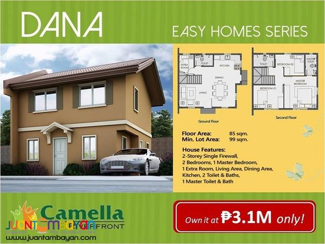 corner lot 3br single house dana model riverfront pit os cebu city