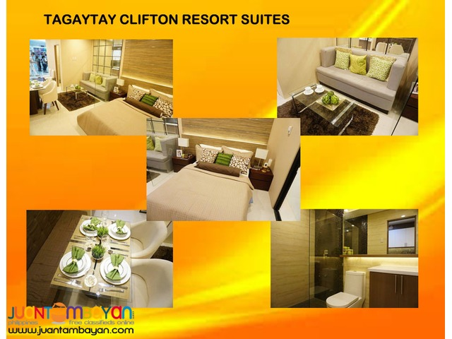 Income Generating Monthly in Condo-Hotel in Tagaytay