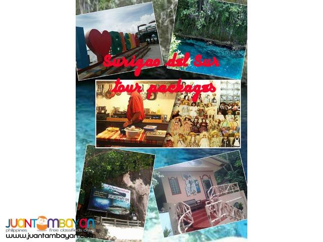 2D1N Surigao del Sur CDO package tour