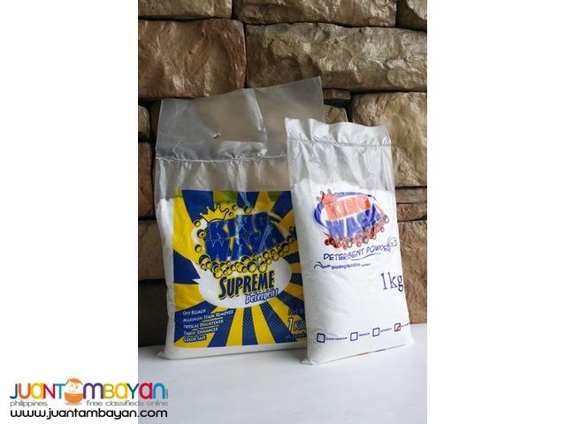 Detergents (Kingwash Brand Powder Detergents)