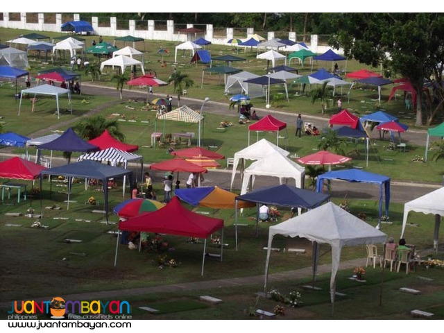 Undas Cemetery Temporary Shade Sementeryo Foldable Tent Memorial Park