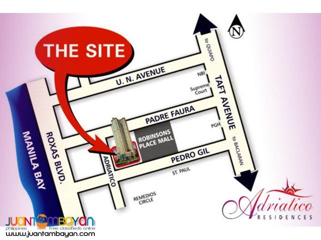 Adriatico Place Manila Tower 3 For Rent