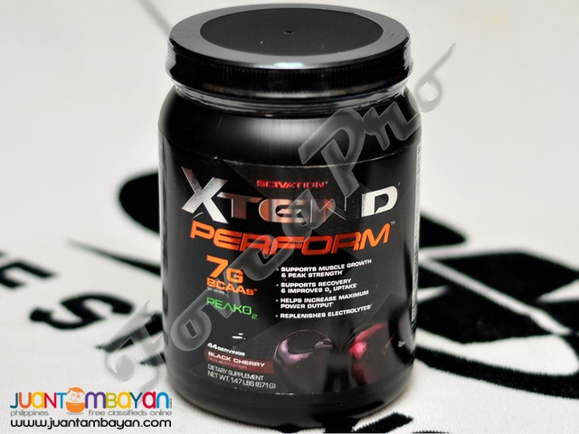 SciVation Xtend Perform, 44 servings Black Cherry (Free Shipping)