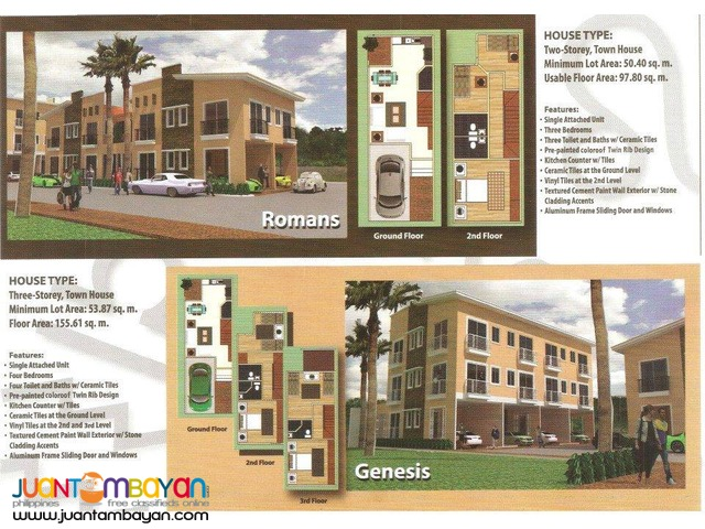 Rent-To-Own Condominium in Antipolo Mt. Carmel Village