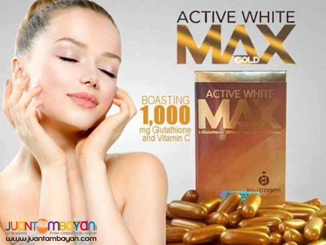 BUY1-TAKE1 PROMO: ACTIVE WHITE MAX GOLD PREMIUM GLUTATHIONE