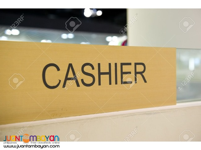Wanted Cashier/Accountant