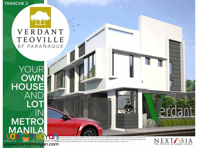 BRAND NEW TOWNHOUSE in BF PARAÑAQUE! PRE-SELLING