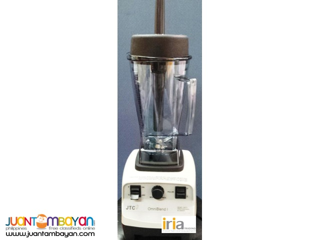 JTC Heavy Duty Blender (Omniblend I) 3HP motor