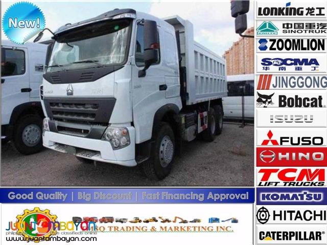 371HP Sinotruk 10WHOWO-A7 Dump Truck Brand New