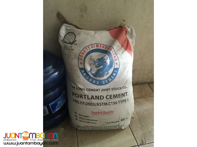Buffalo and Ha Long Cement For Sale Pick Up Only see Details