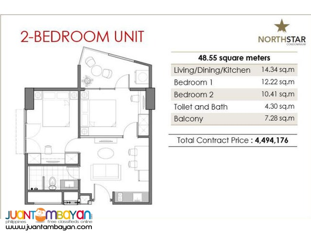 Condominium for sale near Park Mall