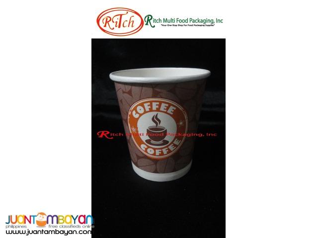 Paper cups Dark Coffee