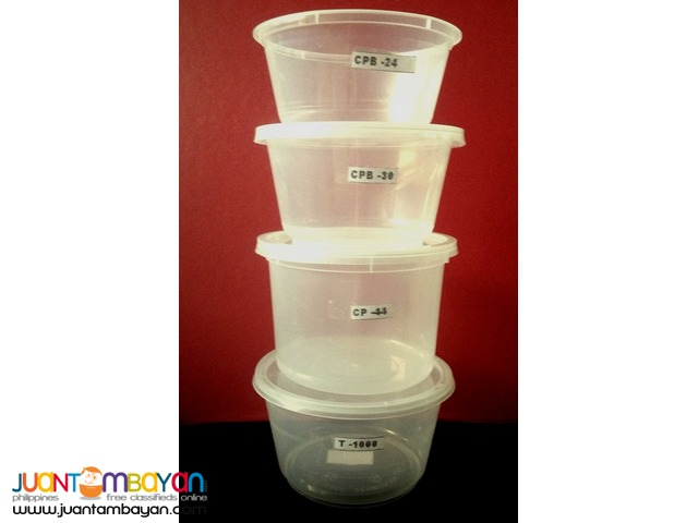 Microwaveable Containers Round Safe Packs