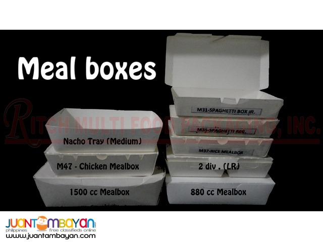 PAPERBOX MEALBOXES