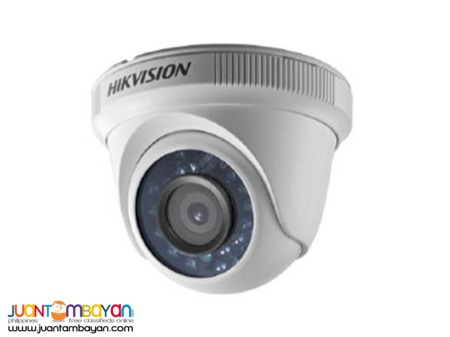 Complete package 4 analog CCTV with roughing-ins & wiring-ins