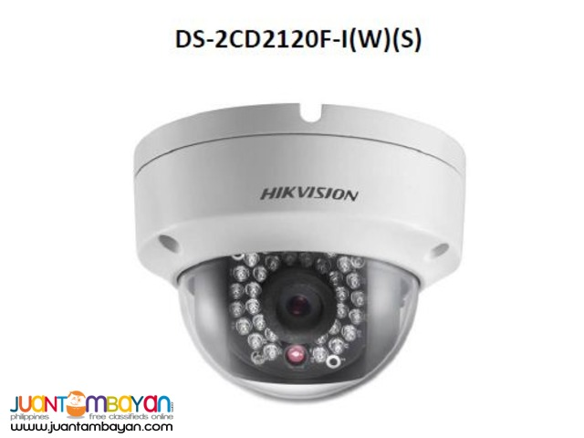 Complete package of 4 IP camera with roughing-ins & wiring-ins