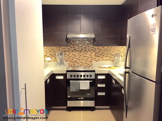 Rockwell Edades Fully-furnished One Bedroom