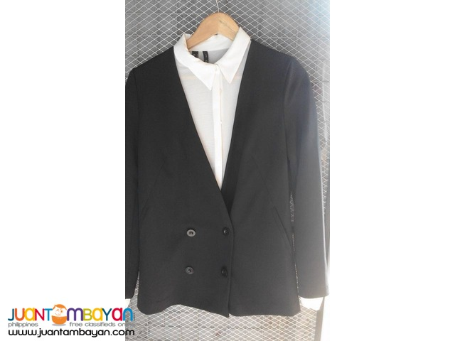 FOREVER21 Double-breasted Blazer | Zara, H&M, Mango, and more!