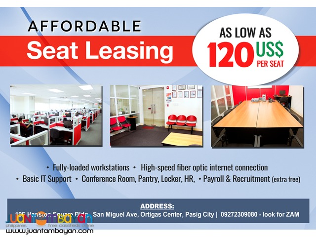 Call Center BPO Seat Lease & Seat Leasing in Ortigas