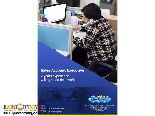 Hiring for Sales Agent